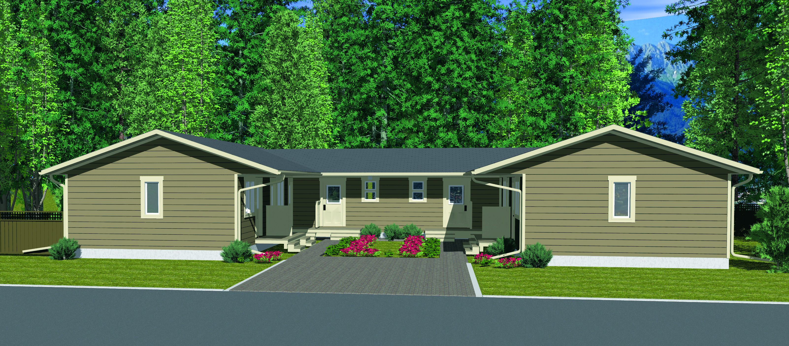 The Cassiar Singles 6 Plex Prefab Town House Winton Homes