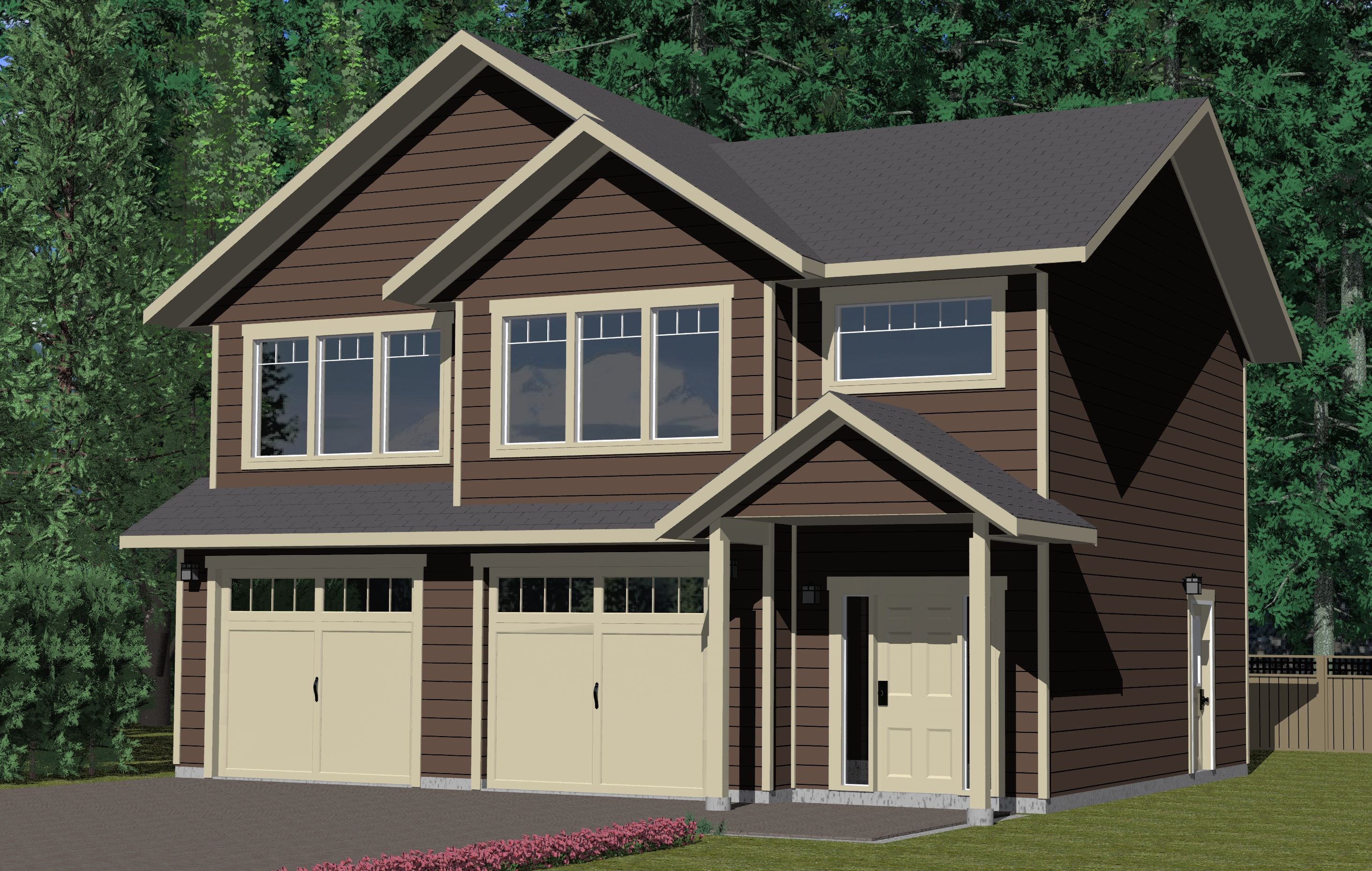 The tacheeda lake prefabricated home plans winton homes for Carriage house plans cost to build