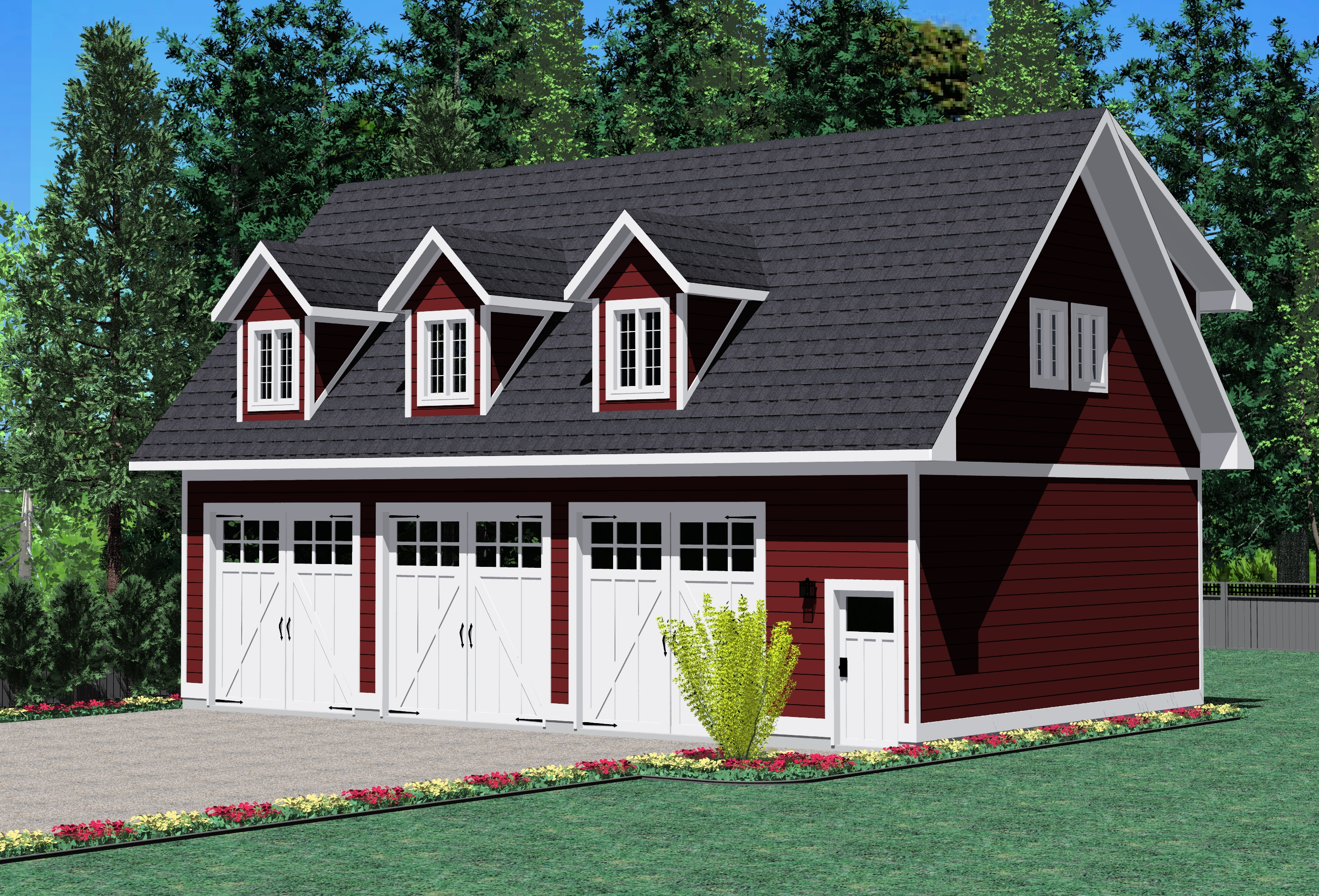 The telegraph creek prefabricated home plans winton homes for Prefab carriage house kits