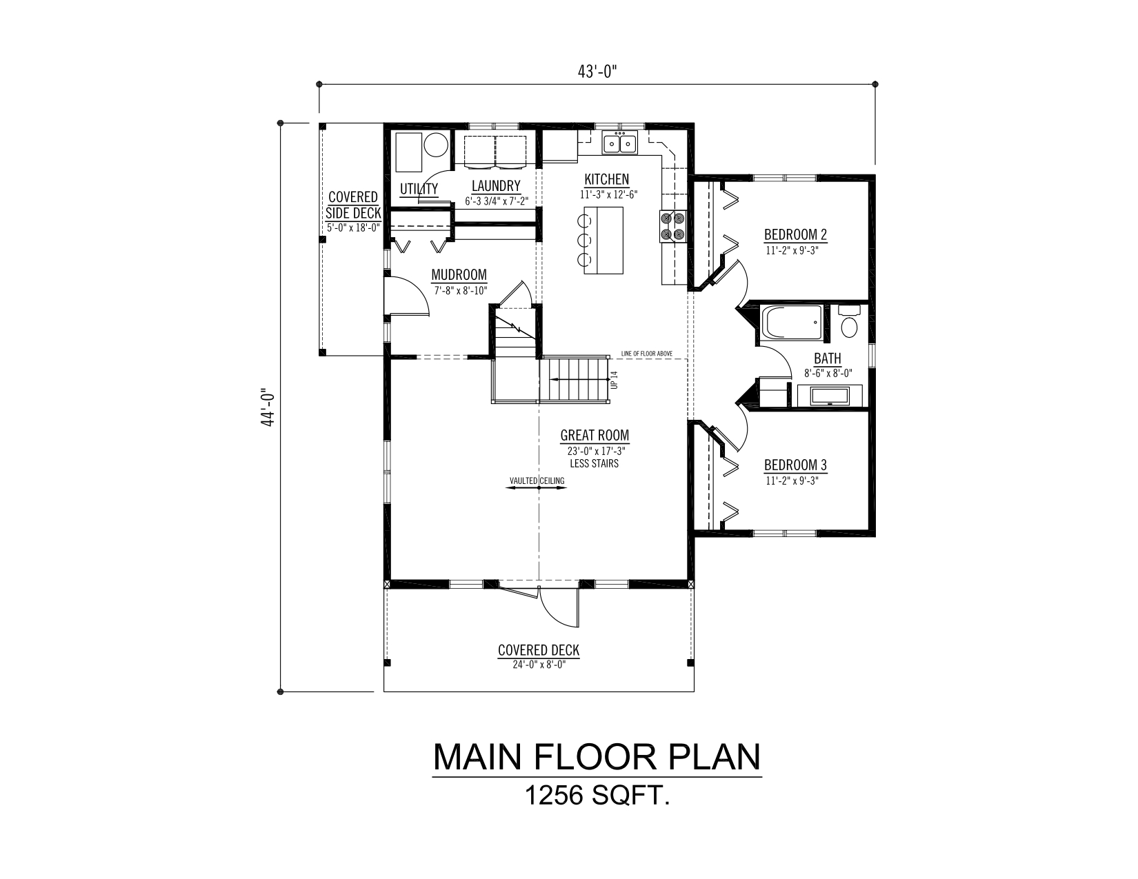 The henday prefab cabin and cottage plans winton homes for Modular cottage floor plans