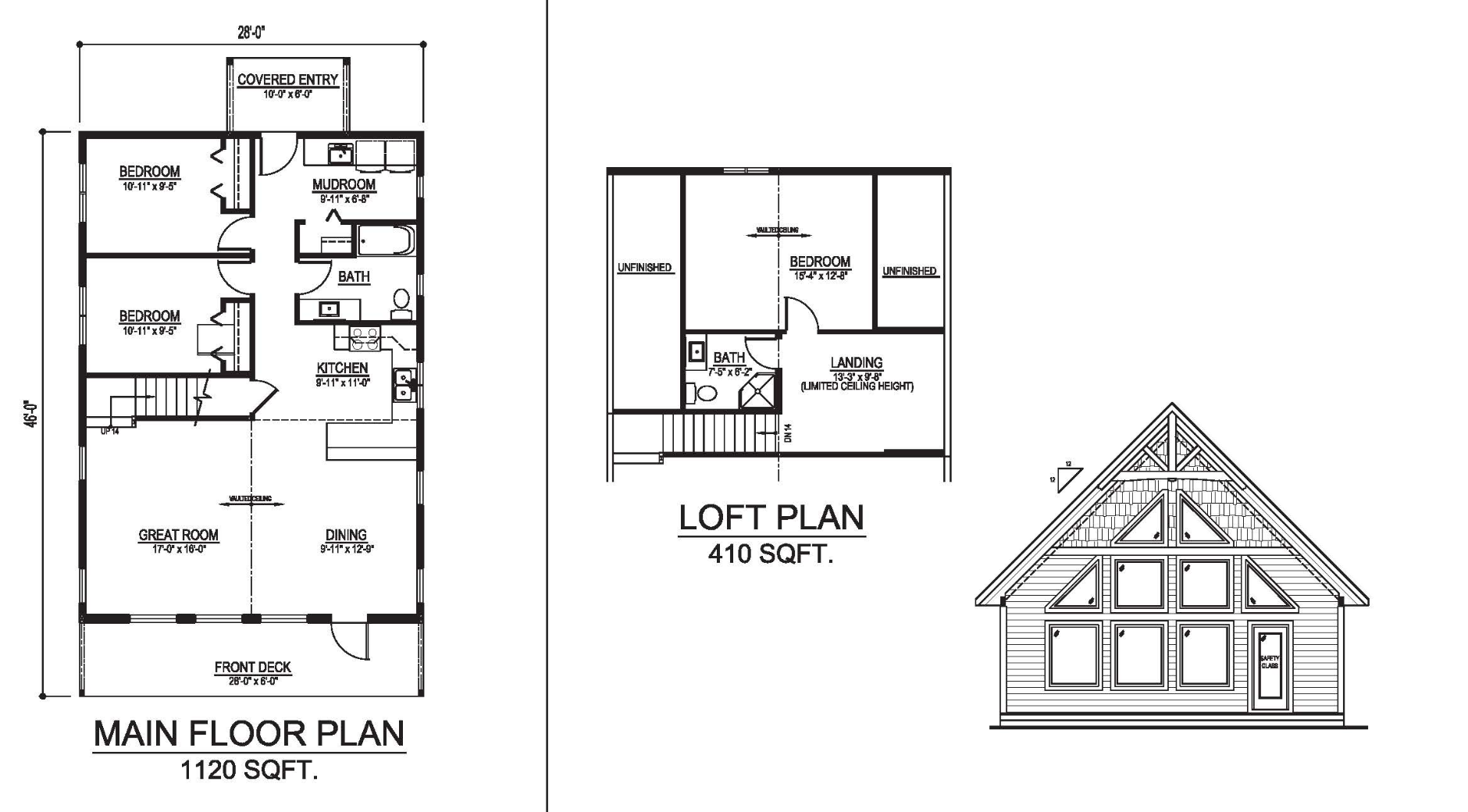 The vancouver prefab cabin and cottage plans winton homes 2 malvernweather Choice Image