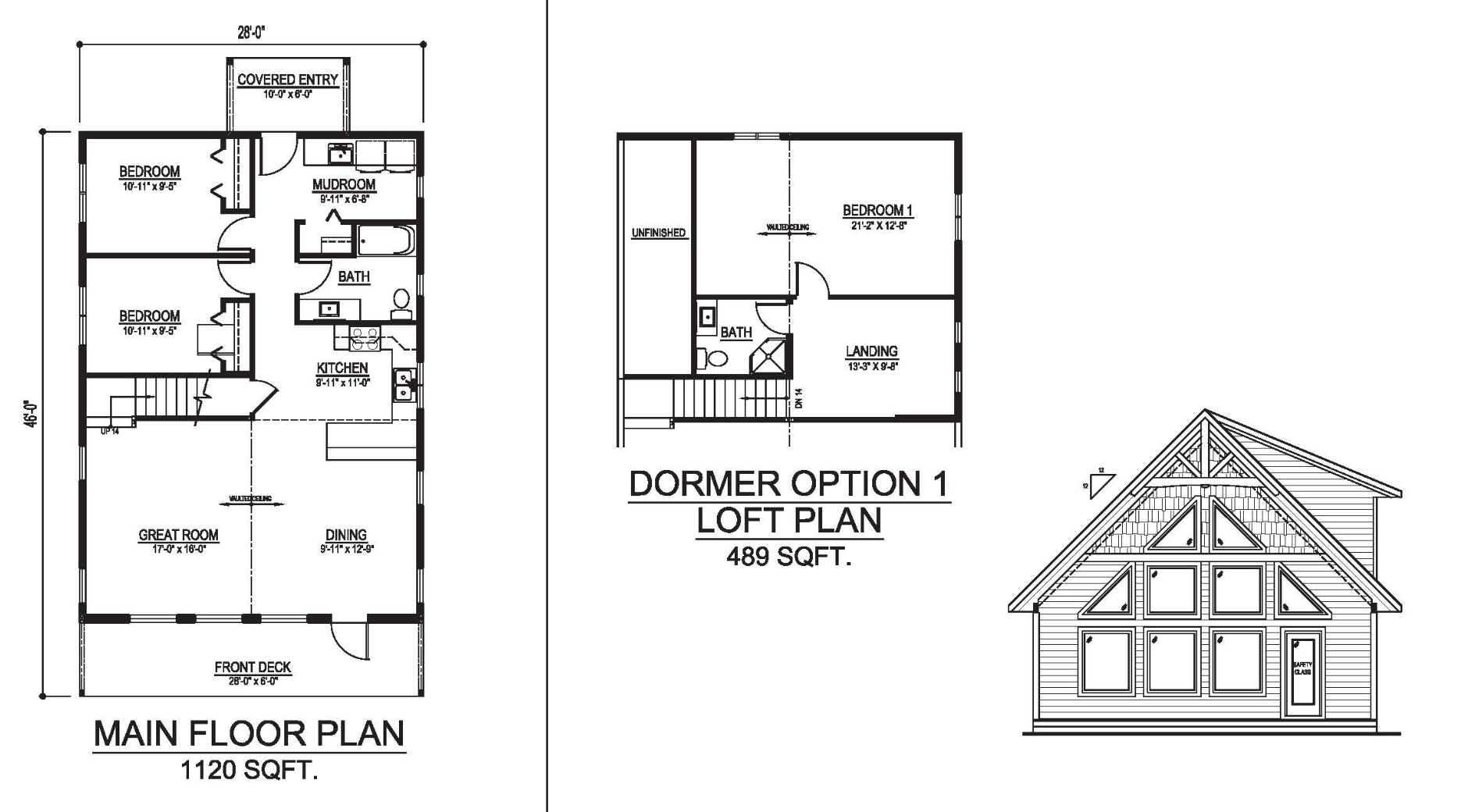 The vancouver prefab cabin and cottage plans winton homes for House plans vancouver