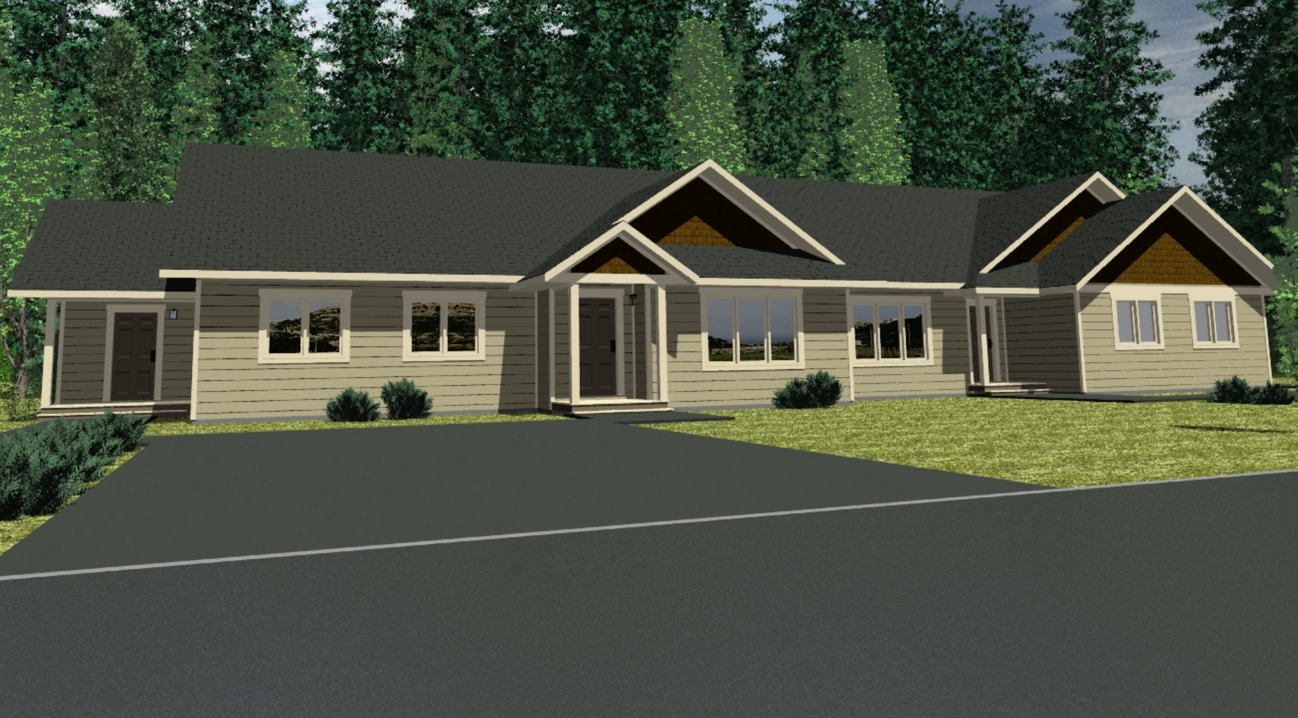 The Williston 4 Plex 3 Bed Prefab Town Houses Winton Homes