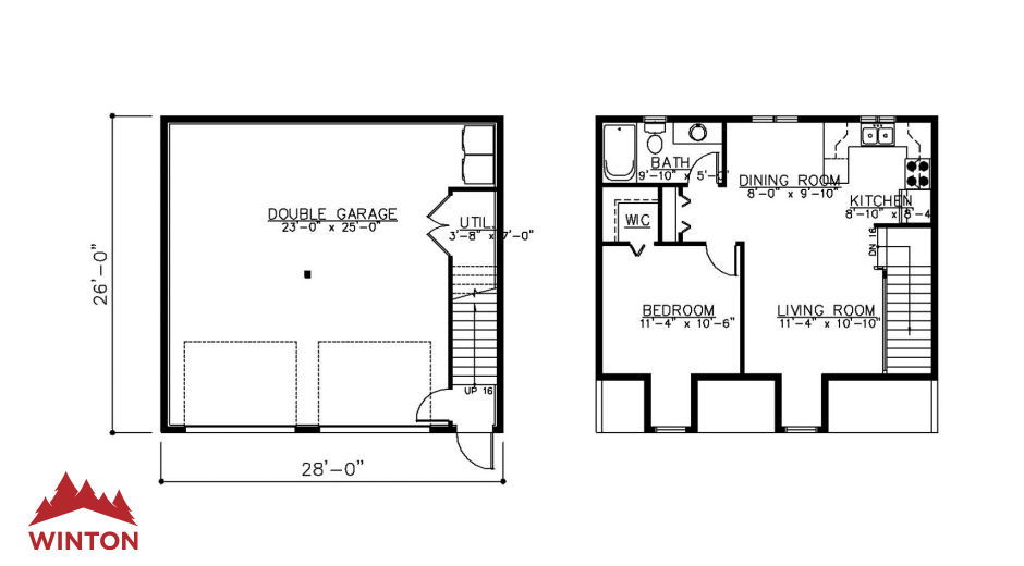 The copper creek prefabricated home plans winton homes for Copper creek homes floor plans